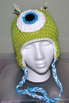 Infant monster hat @Jacquelyn Smith Ingle make me this!!!!
