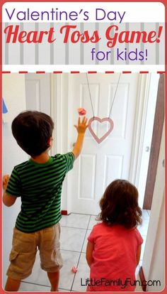Fun and easy Valentine's Day Game for kids! Would be a great game for a Valentine's Day party. ♥️