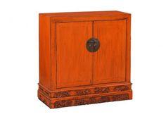 Chinesisches Sideboard orange - Sideboards, Kommoden & Konsolen - Wohnen