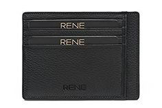 Rene Genuine Leather Black Color Card Holder with 6 Slots Color Card, Card Holder, Wallet, Cards, Leather, Stuff To Buy, Black, Black People, Handmade Purses