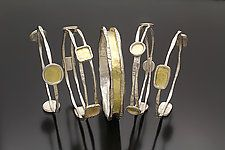 Charming Bangles by Sana  Doumet (Gold & Silver Bracelet)