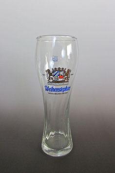 #Weihenstephan #German Tall #Beer Glass Stein 0.5 Liter #Weizen