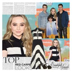 """""""Sabrina Carpenter~Kid's Choice Awards 2016"""" by tvshowobsessed ❤ liked on Polyvore featuring Alice + Olivia and Yves Saint Laurent"""