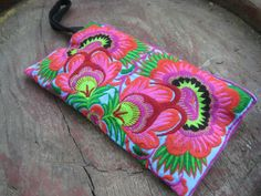 Hmong Old Vintage Style. Ethnic Embroidered Thai Boho Small Clutch Purse Bag on Etsy, $6.99