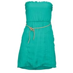 The Volcom Sail To The Stone Dress is fully lined and features a removable halter tie, so you can reel in whatever you wish to. Foot Locker, Dobby, Dress Skirt, Summer Dresses, Stone, Skirts, Aqua, Fashion, Formal Skirt