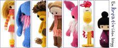 A creative little blog. Love the little girl amigurumi!
