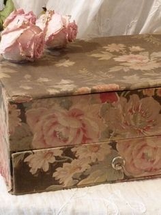 Sweet Box Covered In Roses