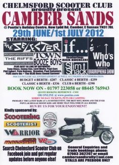 Camber Sands, 29th June - 1st July