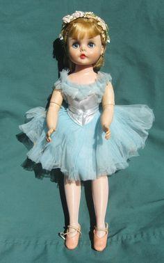 """Madame Alexander Vintage 15"""" Elise Ballerina Doll 1960's"""