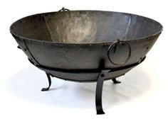 This stylish Indian outdoor brazier fire pit is great for keeping warm in the… Cooking Steak On Grill, Cooking Bowl, Cooking Beets, Fire Pit Bowl, Fire Bowls, Fire Pits, Large Backyard Landscaping, Fire Pit Materials, Metal Fire Pit