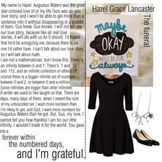 Hazel Grace Lancaster from The Fault in our Stars