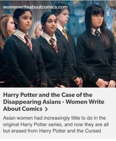 Cho chang, padma patil, Parvati patil, Harry Potter, hp