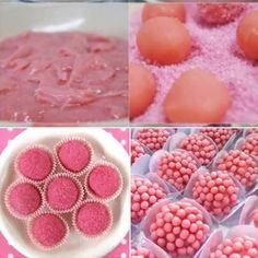 brigadeiro de gelatina