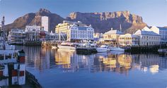 Plan your getaway to South Africa at the Protea Hotel Cape Town Waterfront Breakwater Lodge. Our ideally located hotel places you on the V&A Waterfront. Oh The Places You'll Go, Places To Travel, Places To Visit, V&a Waterfront, Namibia, Fantasy Island, Cape Town South Africa, Victoria, Most Beautiful Cities
