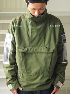 Jackets certainly are a crucial component to each and every man's set of clothes. Men need outdoor jackets for assorted activities and several varying weather conditions Fashion Wear, Mens Fashion, Street Fashion, Runway Fashion, Revival Clothing, Lookbook, Windbreaker Jacket, Anorak Jacket, Urban Outfits