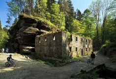 Haunted Places, Czech Republic, Mystic, Mount Rushmore, Mountains, Country, Travelling, Rocks, Rural Area