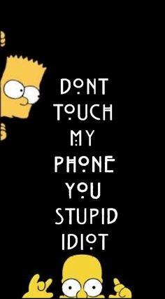 the Simpson family's wallpaper