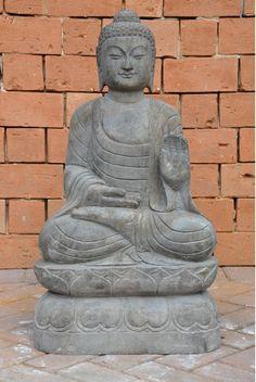 Buda esculpido em mármore. Tamanhos e modelos variados. #Buda #Marmore #Decoracao #Paisagismo #Arquiterura #Nikon