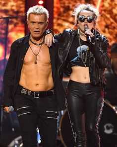Billy Idol, Miley Cyrus