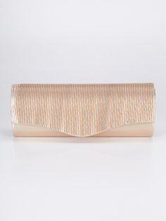 8680e11e96 Mecshopping | Borse Donna · Pochette rigida in tessuto, chiusura a battente  con bottone calamitato, frontale lavorato effetto pieghe