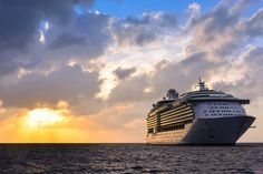 Mariner of the Seas sets sail.