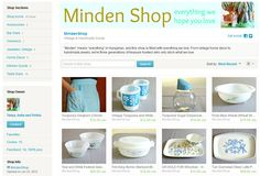 My Etsy Shop has been (re)launched - with new finds (and a new part-owner), I'm looking forward to a fresh start.