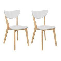 CHAISE SIMPLY Lot de 2 chaises de salle à manger desig...
