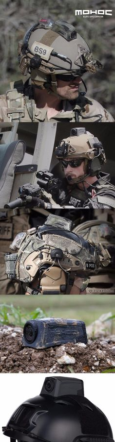 Evike - MOHOC Elite Ops Helmet Mounted Tactical HD Camera @aegisgears