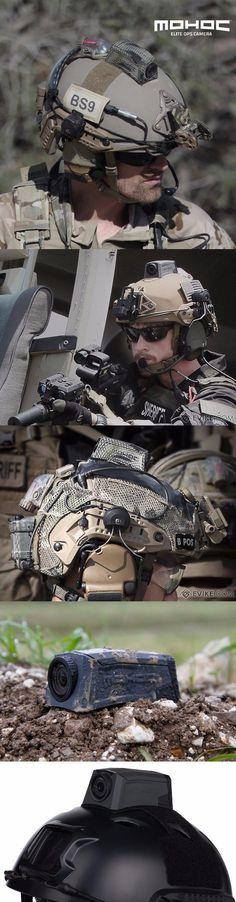 Evike - MOHOC Elite Ops Helmet Mounted Tactical HD Camera @aegisgears
