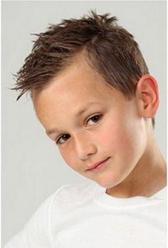 Coupe de cheveux garçon 10 ans