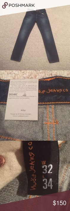 Nwt men's nudie jeans steady Eddie 32x34 Brand new with tags men's nudie jeans steady Eddie style waist 32 length 34 whistle blue color. Will sell cheaper through PayPal invoice just email me at russellchilo@gmail.com Nudie Jeans Jeans Slim Straight