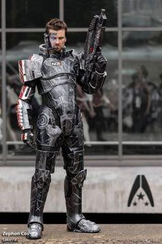 Commander Shepard (Mass Effect) | Source: http://on.fb.me/1nlCQAi