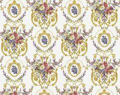 baroque wallpaper Chateau 4 95493-3