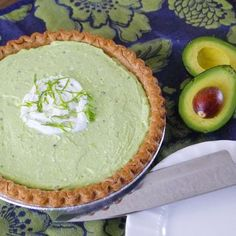 Avocado Pie -- for real. Try it. You'll never look at avocado the same way again!
