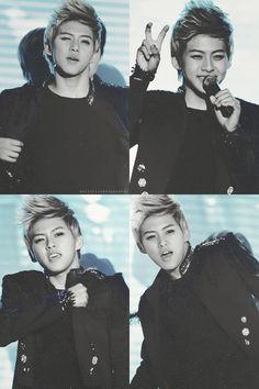 dongho ~<3 i really like his hair like that :]