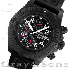 Take on any challenge in this Breitling Super Avenger!