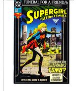 DC Comics Supergirl in Action Comics: Funeral For A Friend Pt.6  #686 Feb. 1993 - $5.99