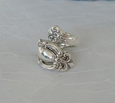 Spoon Ring  I have a vintage spoon ring and I love it so much!! I think spoon rings are so unique and pretty