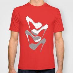 LOUBOUTIN+STACKED+T-shirt+by+Aautruche+-+$22.00