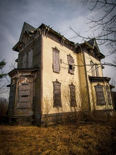 A derelict former family home. Cleveland photographer Johnny Joo, 23, believes that with no prospect of restoration, properties such as these will continue to decay.