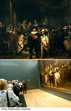 Find out why Rembrandt's Night Watch painting is so famous, when and why he painted it.