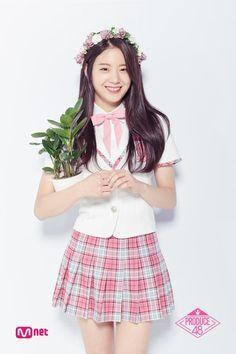 Produce 48 contestant Jang Gyuri