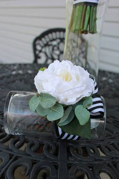 Check out this item in my Etsy shop https://www.etsy.com/listing/511532732/white-peony-wrist-corsage-with-real