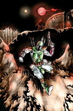 Escape of Boba Fett