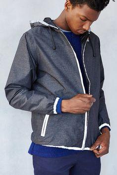 K-Way Reflective Windbreaker Jacket