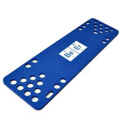 The beeriodic foam table also comes in blue.