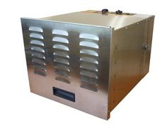 Try out this Cooks Club Stainless Steel Metal Food Dehydrator available with Variable Heat Levels and also with the feature of Analog Control Panel by N/A. Grab more food dehydrator deals @ bestfooddehydrator.co.uk