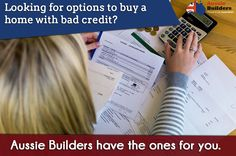 Looking for options to buy a ‪home‬ with ‪‎badc redit‬? ‪‎Aussie Builders‬ have the ones for you. Contact the team by visiting the website.