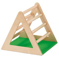 Trim Trail Climbing Triangle - Sturdy climbing frame with rungs on two sides of the frame. Toddler Trim Trail play equipment is for children from 15 months comprising of 5 assorted cubes, 3 climbing frames a platform and a balancing board. The modular nature of the set encourages active play.