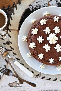 Pastel de chocolate libre de gluten